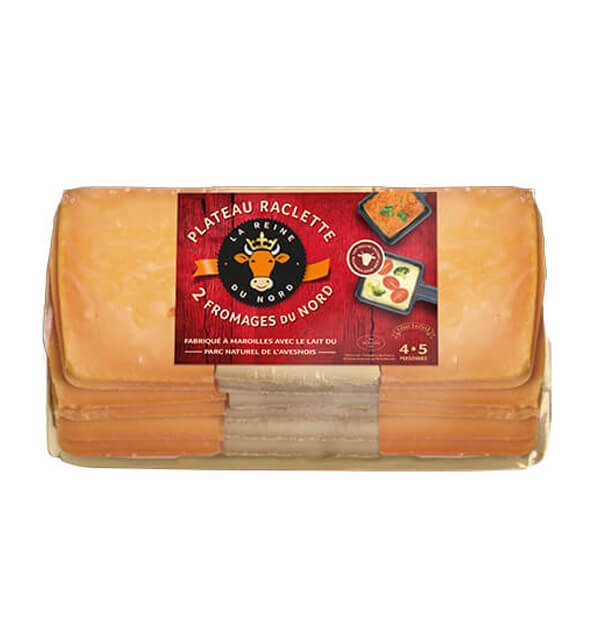 Raclette 2 fromages - La Reine du Nord