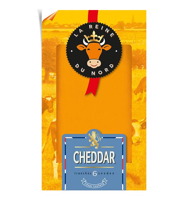 Tranchette Cheddar - La Reine du Nord