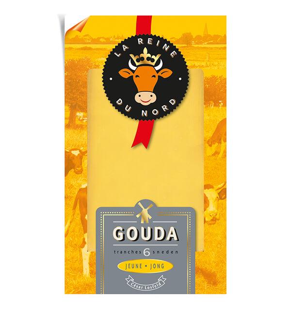 Tranchette Gouda Jeune - La Reine du Nord